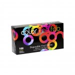 Framar Color Me Fab Disposable Vinyl Gloves