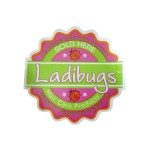 Ladibugs Mirror/Window Cling