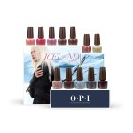 OPI Nail Lacquer Iceland Collection Display - Edition A