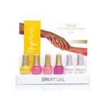 SpaRitual GOLD Empower Collection Display