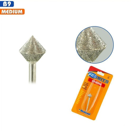 Medicool Pro Bits Diamond Saucer (French Fill) for Nails (B9)