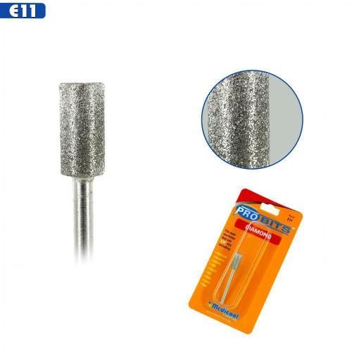 Medicool Pro Bits Diamond Small Barrel for Nails (E11)
