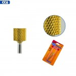 Medicool Pro Bits Gold Carbide Medium Grit Backfill Bit for Nails