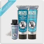 Reuzel Grooming Cream, Matte Styling Paste & Matte Powder Intro