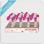 invisibobble® Holiday Candy Cane Display