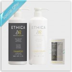 ETHICA Shampoo & Conditioner with a Travel Pack