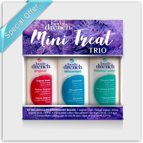 Body Drench Mini Treat Trio Body Lotions